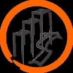 icône représentant l'expansion d'une société sous forme de lignes verticales, grâce au métier de consulting