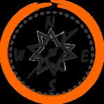 icône représentant l'orientation d'une société sous forme de lignes verticales, grâce au métier de consulting